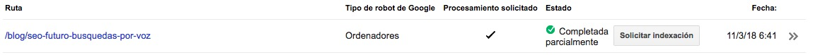 indexar post en google